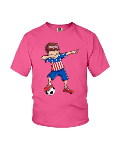 Soccer Boy USA Dabbing