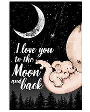 I love you to the moon and back 16x24 Poster front