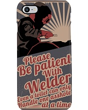 Please be patient with welder Phone Case thumbnail