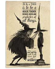 To be a witch 16x24 Poster front