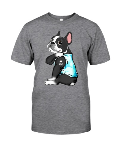 Boston Terrier love dad