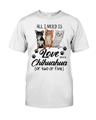 All I need is love and a chihuahua