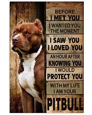 I am your Pitbull 16x24 Poster front