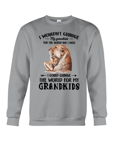 I wish I could change the world for my grandkids