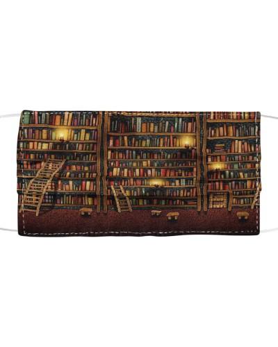 Book lovers mask - The bookshelves