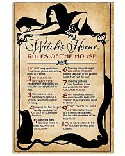 Rules of the house 16x24 Poster front