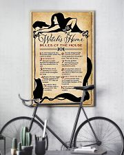 Rules of the house 16x24 Poster lifestyle-poster-7
