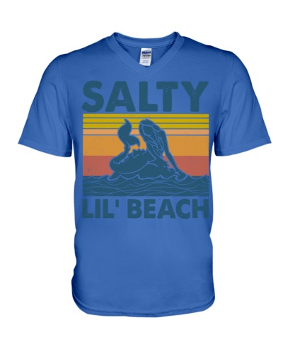 Salty lil beach