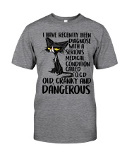 Old Cranky and Dangerous Classic T-Shirt front