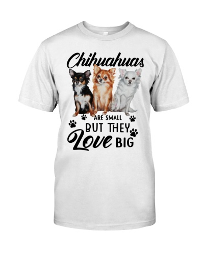Chihuahuas are small but they love big