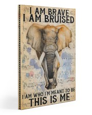 I am brave I am bruised 20x30 Gallery Wrapped Canvas Prints thumbnail