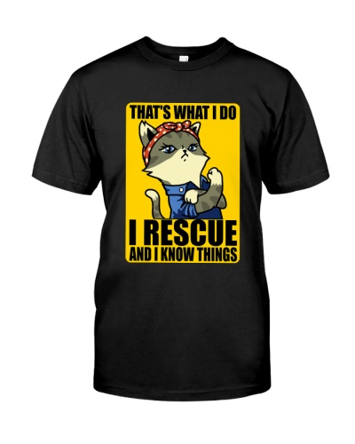 I rescue and I know things