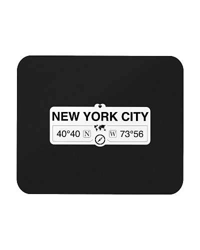 NEW YORK CITY Coordinates