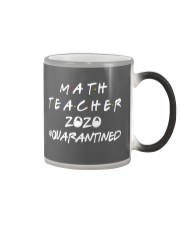 Math Teacher Color Changing Mug tile