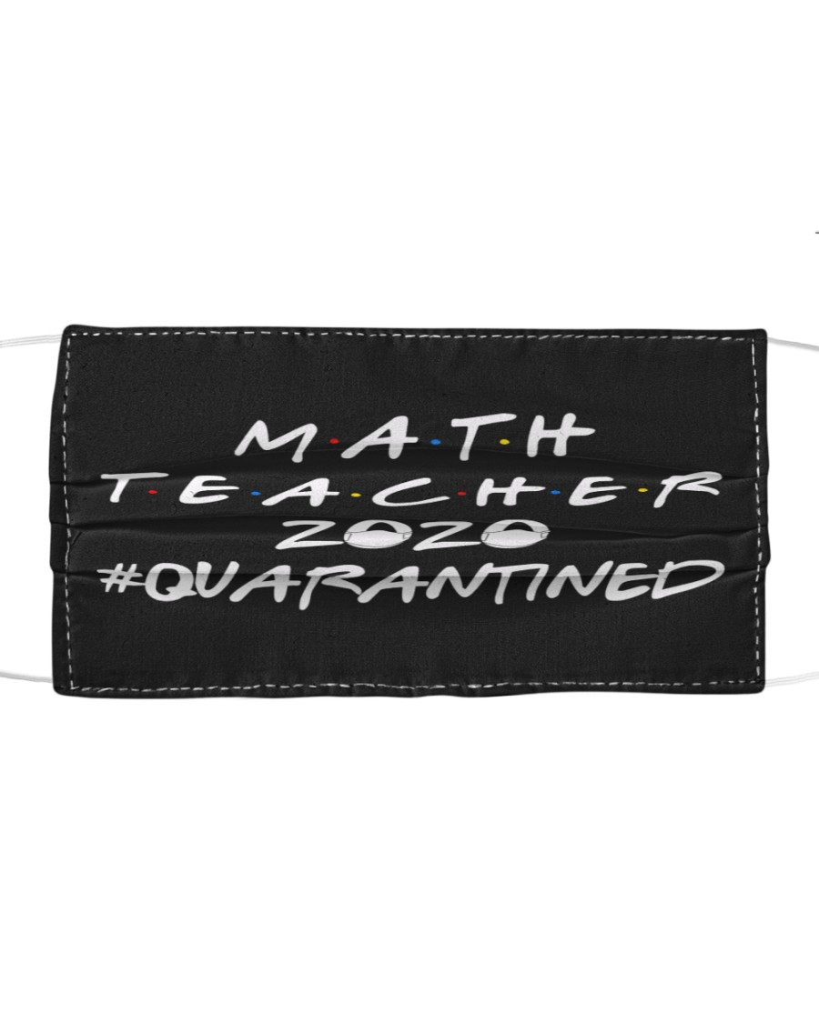 Math Teacher Cloth face mask
