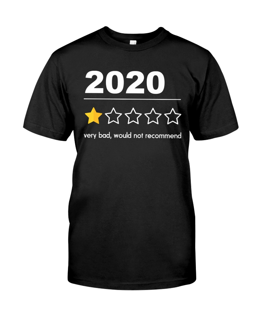2020 Not Recommended Classic T-Shirt