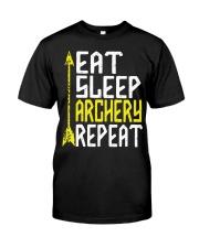 Eat Sleep Archery Repeat-Sports Hobby Premium Fit Mens Tee thumbnail