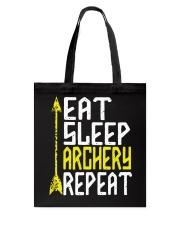 Eat Sleep Archery Repeat-Sports Hobby Tote Bag thumbnail