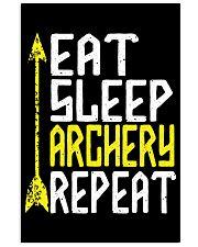 Eat Sleep Archery Repeat-Sports Hobby 11x17 Poster thumbnail