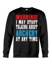 Archery Warning-Sports Hobby Crewneck Sweatshirt thumbnail