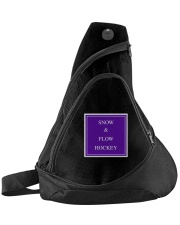 Snow and Flow Hockey Design Sling Pack thumbnail