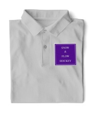 Snow and Flow Hockey Design Classic Polo thumbnail