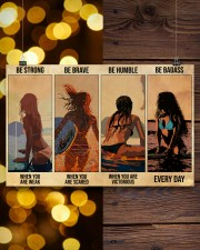 Surfing Be Strong When You Are Weak 17x11 Poster aos-poster-landscape-17x11-lifestyle-29