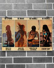 Surfing Be Strong When You Are Weak 17x11 Poster poster-landscape-17x11-lifestyle-18
