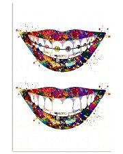 Dentist Art Smiles 11x17 Poster front