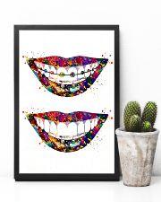 Dentist Art Smiles 11x17 Poster lifestyle-poster-8