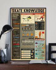 Skateboard Skate Knowledge 11x17 Poster lifestyle-poster-2