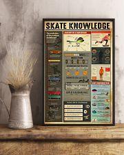 Skateboard Skate Knowledge 11x17 Poster lifestyle-poster-3
