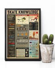 Skateboard Skate Knowledge 11x17 Poster lifestyle-poster-8