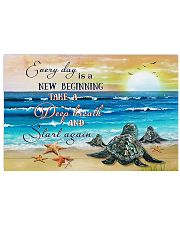 New Beginning Turtle 17x11 Poster front