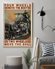 Motorcycle Two Wheels Move The Soul 11x17 Poster lifestyle-poster-1