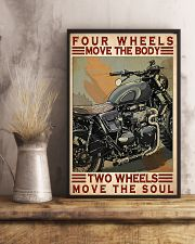 Motorcycle Two Wheels Move The Soul 11x17 Poster lifestyle-poster-3