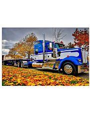 Trucker - Semi Truck In Autumn 17x11 Poster front