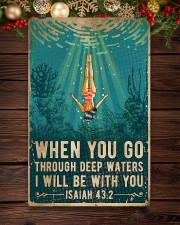 When You Go Through Deep Waters I Will Be With You 11x17 Poster aos-poster-portrait-11x17-lifestyle-22