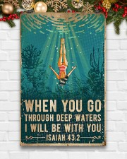 When You Go Through Deep Waters I Will Be With You 11x17 Poster aos-poster-portrait-11x17-lifestyle-23