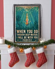 When You Go Through Deep Waters I Will Be With You 11x17 Poster lifestyle-holiday-poster-4