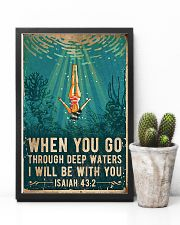 When You Go Through Deep Waters I Will Be With You 11x17 Poster lifestyle-poster-8