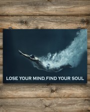 Swimming - Lose Your Mind Find Your Soul 17x11 Poster aos-poster-landscape-17x11-lifestyle-14