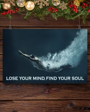 Swimming - Lose Your Mind Find Your Soul 17x11 Poster aos-poster-landscape-17x11-lifestyle-27