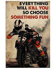 Motorcycle Choose Something Fun 11x17 Poster front