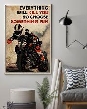 Motorcycle Choose Something Fun 11x17 Poster lifestyle-poster-1