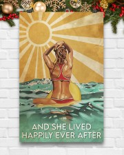 Surfing And She Lived Happily Ever After  11x17 Poster aos-poster-portrait-11x17-lifestyle-23