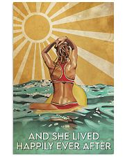 Surfing And She Lived Happily Ever After  11x17 Poster front