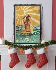 Surfing And She Lived Happily Ever After  11x17 Poster lifestyle-holiday-poster-4