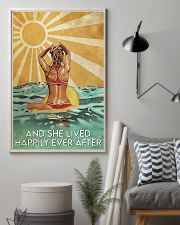 Surfing And She Lived Happily Ever After  11x17 Poster lifestyle-poster-1