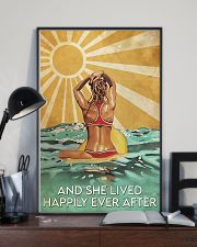 Surfing And She Lived Happily Ever After  11x17 Poster lifestyle-poster-2
